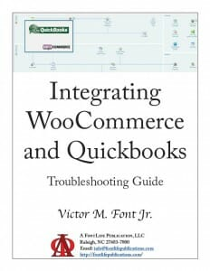 WooCommerce-Quickbooks Integration Front Cover