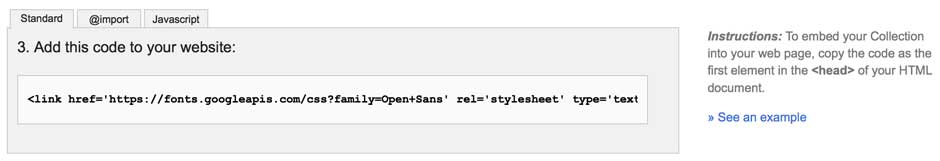 Copy CSS Link to Text Editor