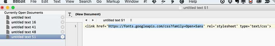Copy href content to browser address bar