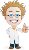 Nutty Professor thumbs up image