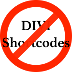 Remove Divi Shortcodes For New Theme Image
